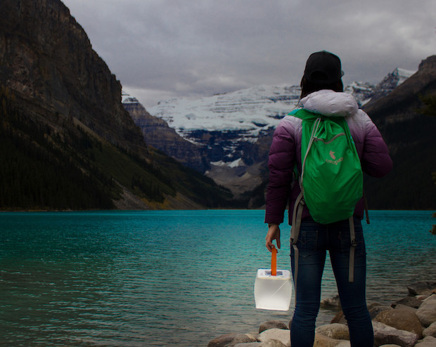 LuminAID-PackLite-Max-solar-inflatable-lantern-lake-louise-2 SQUARE