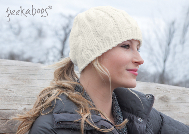 Peekaboos Ponytail Hats - Lifestyle Natural