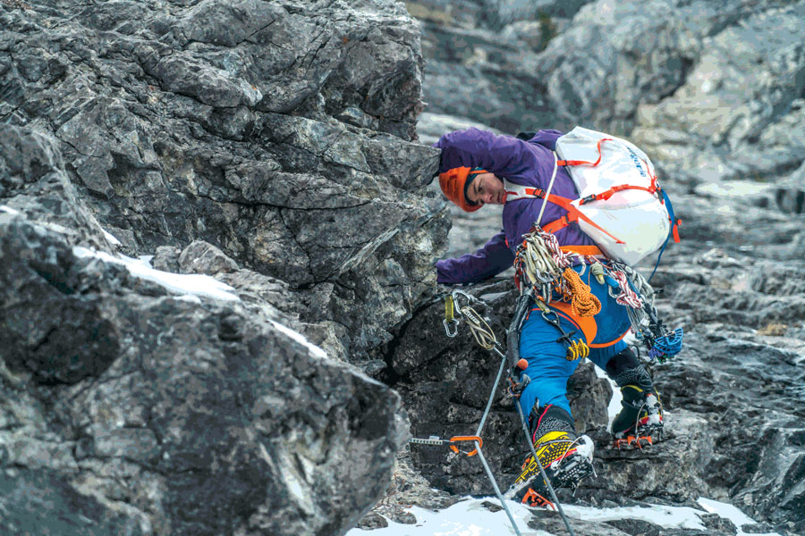 The Alpinist Wears No Clothes New Patagonia High Alpine