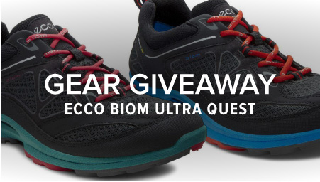 Win a pair of ECCO BIOM Ultra Quest Trail Runners