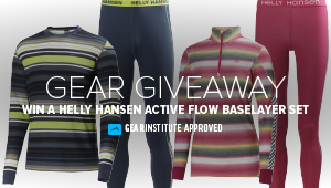 Win a Helly Hansen Active Flow Baselayer Set